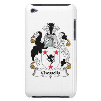 Escudo de la familia de Chessells Barely There iPod Carcasas