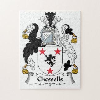 Escudo de la familia de Chessells Puzzles