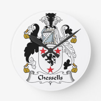 Escudo de la familia de Chessells Relojes