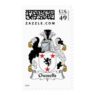 Escudo de la familia de Chessells Franqueo