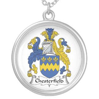 Escudo de la familia de Chesterfield Colgante Redondo