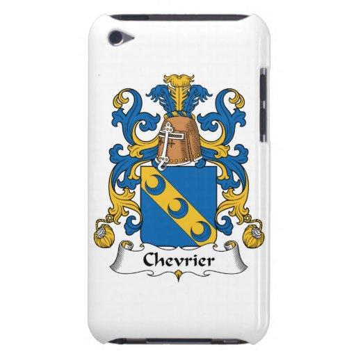 Escudo de la familia de Chevrier Case-Mate iPod Touch Coberturas