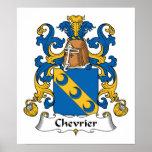 Escudo de la familia de Chevrier Poster