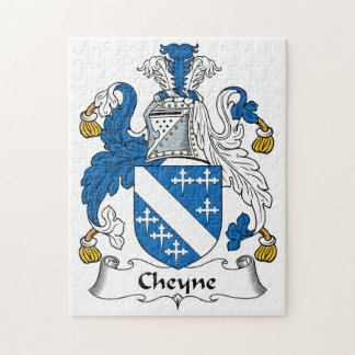 Escudo de la familia de Cheyne Puzzle