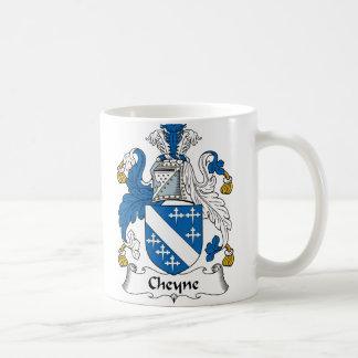 Escudo de la familia de Cheyne Tazas De Café
