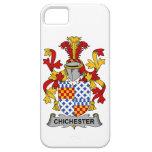 Escudo de la familia de Chichester iPhone 5 Case-Mate Cárcasas