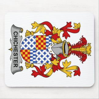 Escudo de la familia de Chichester Alfombrilla De Raton