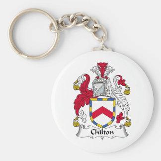 Escudo de la familia de Chilton Llaveros