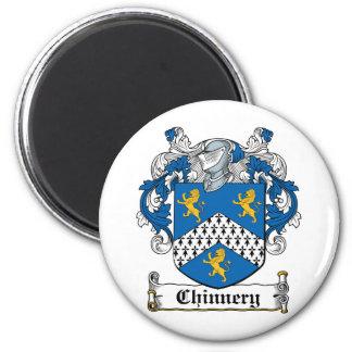 Escudo de la familia de Chinnery Imán Redondo 5 Cm