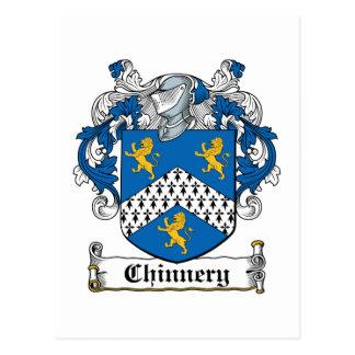 Escudo de la familia de Chinnery Postales