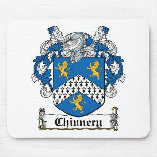 Escudo de la familia de Chinnery Tapete De Raton