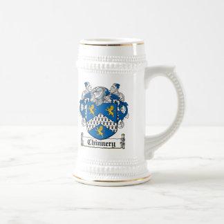 Escudo de la familia de Chinnery Jarra De Cerveza