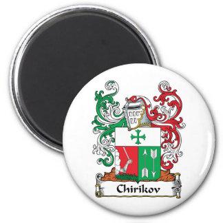 Escudo de la familia de Chirikov Imán Redondo 5 Cm