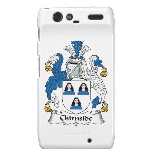 Escudo de la familia de Chirnside Droid RAZR Carcasas
