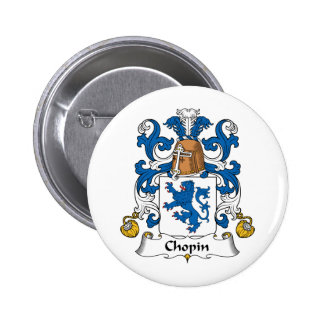 Escudo de la familia de Chopin Pins