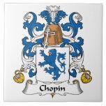 Escudo de la familia de Chopin Azulejos