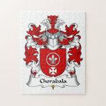 Escudo de la familia de Chorabala Rompecabeza Con Fotos