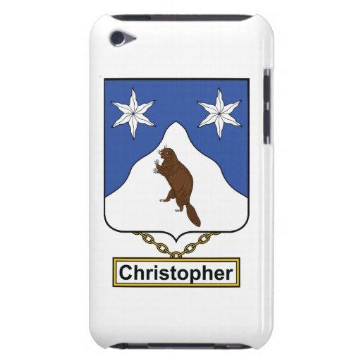 Escudo de la familia de Christopher iPod Touch Carcasa