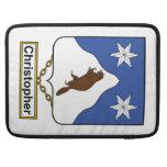 Escudo de la familia de Christopher Fundas Para Macbook Pro