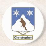 Escudo de la familia de Christopher Posavasos Diseño