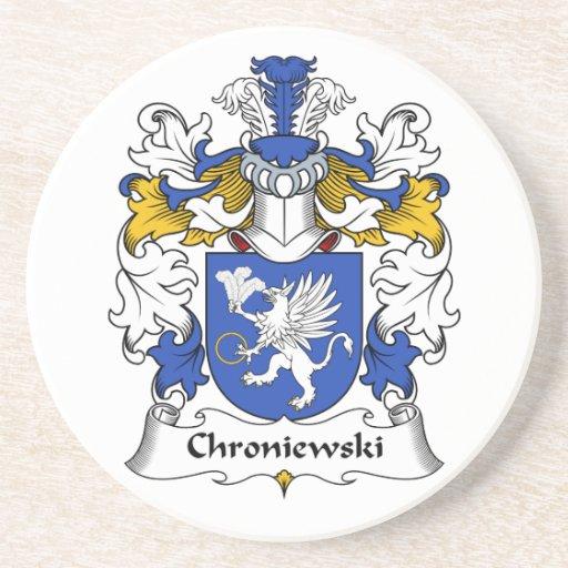 Escudo de la familia de Chroniewski Posavaso Para Bebida