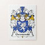 Escudo de la familia de Chroniewski Puzzles Con Fotos