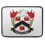 Escudo de la familia de Chrystie Funda Para Macbooks