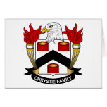 Escudo de la familia de Chrystie Tarjeton