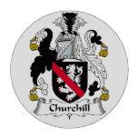 Escudo de la familia de Churchill Fichas De Póquer