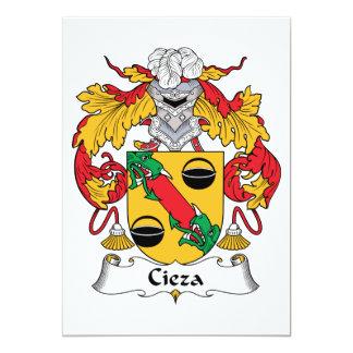 Escudo de la familia de Cieza Anuncio Personalizado