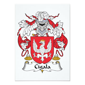 Escudo de la familia de Cigala Anuncio Personalizado