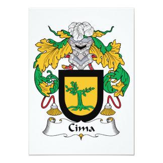 Escudo de la familia de Cima Anuncio Personalizado