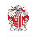 Escudo de la familia de Cisneiros Postal