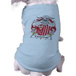 Escudo de la familia de Cisneiros Camisas De Mascota