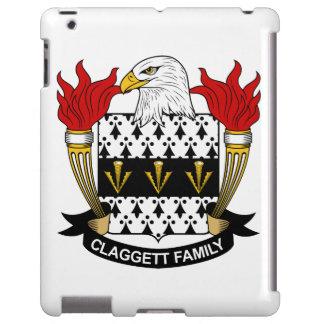Escudo de la familia de Claggett Funda Para iPad