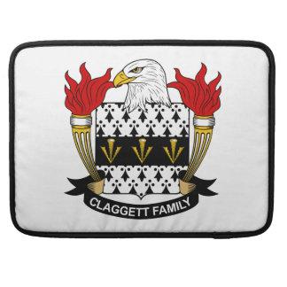 Escudo de la familia de Claggett Fundas Macbook Pro