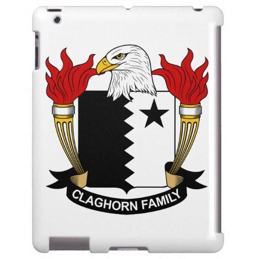 Escudo de la familia de Claghorn Funda Para iPad