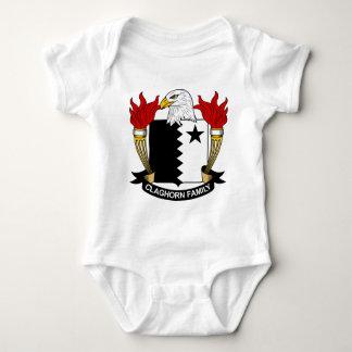 Escudo de la familia de Claghorn Tee Shirts