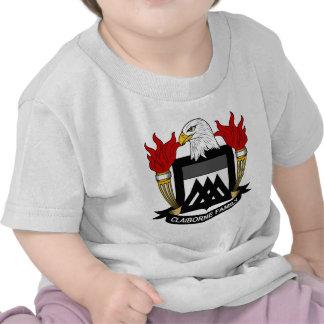 Escudo de la familia de Claiborne Camiseta