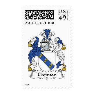 Escudo de la familia de Clapman Envio