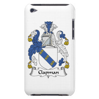 Escudo de la familia de Clapman iPod Case-Mate Fundas