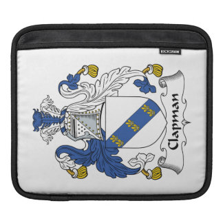 Escudo de la familia de Clapman Fundas Para iPads