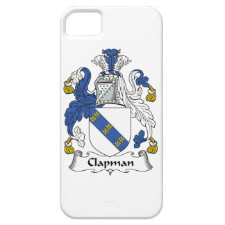 Escudo de la familia de Clapman iPhone 5 Fundas