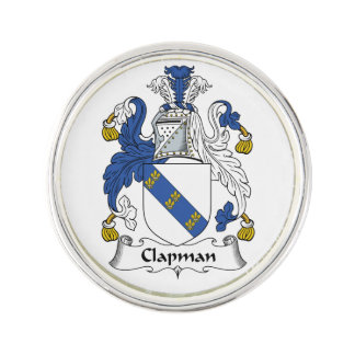 Escudo de la familia de Clapman Pin