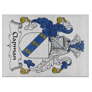 Escudo de la familia de Clapman Tablas De Cortar