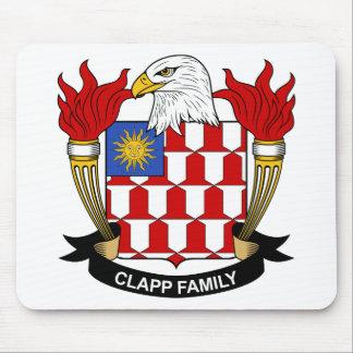 Escudo de la familia de Clapp Alfombrilla De Ratón
