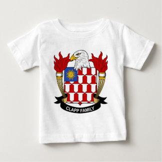 Escudo de la familia de Clapp Tshirt