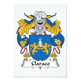 Escudo de la familia de Claraco Comunicados Personalizados