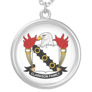 Escudo de la familia de Clarkson Joyeria Personalizada