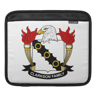 Escudo de la familia de Clarkson Mangas De iPad